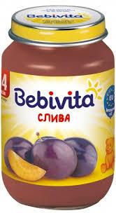 BEBIVITA Сини сливи 190 гр.